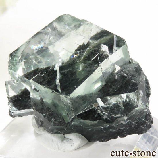 中国 Xianghualing Mine産 グリーンフローライトの結晶 13gの写真3 cute stone
