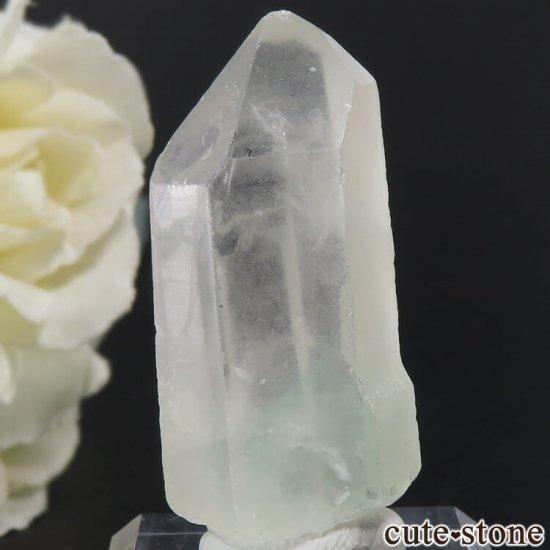 グリーンファントムクォーツ(ゴーストクォーツ)の結晶 17g