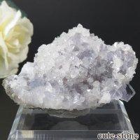 スペイン Emilio Mine産 フローライト&クォーツの母岩付き結晶(原石)75gの画像