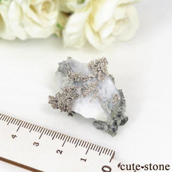 モロッコ Imiter Mine産 シルバー(自然銀)16gの写真5 cute stone
