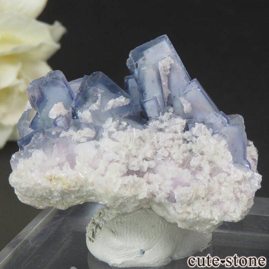 ヤオガンシャン産 ブルーフローライト 29gの写真1 cute stone