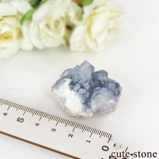 ヤオガンシャン産 ブルーフローライト 29gの写真5 cute stone