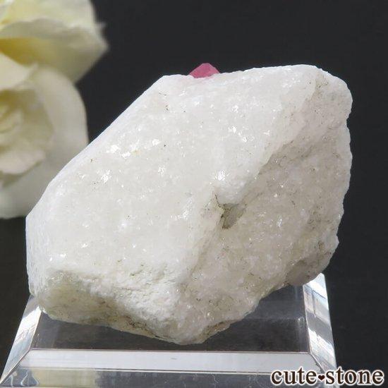ベトナム産 ピンクスピネルの母岩付き結晶 (原石) 21gの写真0 cute stone