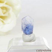 メレラニ産 タンザナイト(ブルーゾイサイト)の単結晶(原石)2.1ctの画像