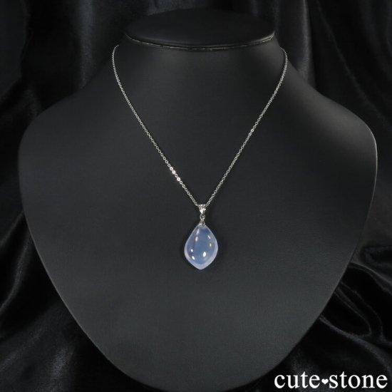 スコロライト(ラベンダークォーツ)のペンダントトップ No.5の写真2 cute stone