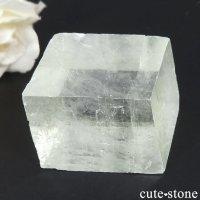 メキシコ産 グリーンカルサイトの劈開片結晶(原石) 78gの画像