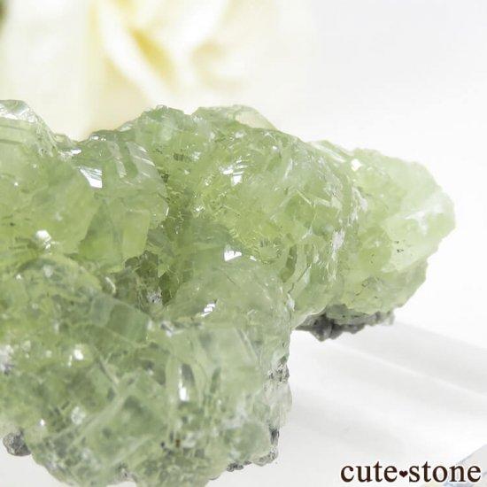 タンザニア メレラニ産 プレナイトの原石 19.7gの写真4 cute stone
