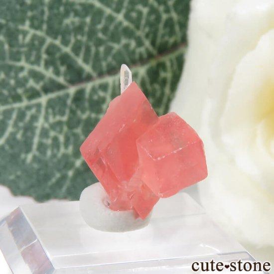 コロラド スイートホーム鉱山産のロードクロサイト&クォーツの原石 1.3gの写真3 cute stone