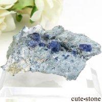 カリフォルニア産 ベニトアイトの母岩付き結晶(原石) 11.6gの画像