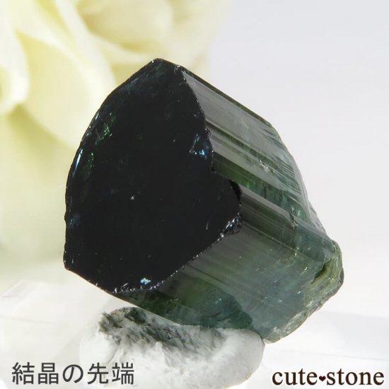 ブラジル ミナスジェライス州産 バイカラートルマリン(ブルー・グリーン)の結晶 2.7gの写真3 cute stone