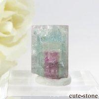 ブラジル ミナスジェライス州産 トリカラートルマリンの結晶 2.1gの画像