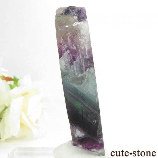 フローライトの板状スライス 72.9gの写真0 cute stone