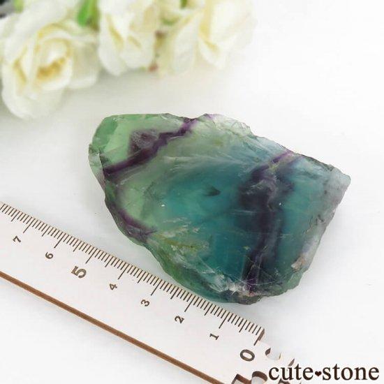 フェザーインフローライトの板状スライス 104gの写真3 cute stone