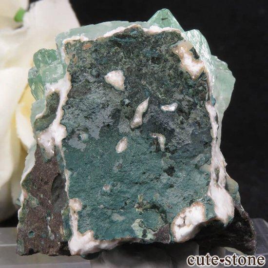 インド プネー産 グリーンアポフィライトの原石 36.3gの写真1 cute stone