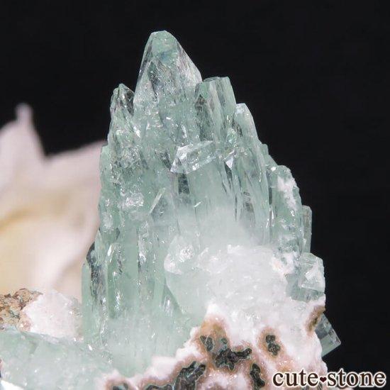 インド プネー産 グリーンアポフィライトの原石 27.5gの写真4 cute stone