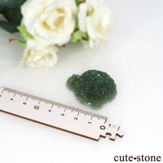 中国 河南省産グリーンフローライトの原石 26gの写真1 cute stone