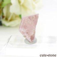 パキスタン フンザ産 ピンクアパタイトの結晶(原石) 1.7gの画像