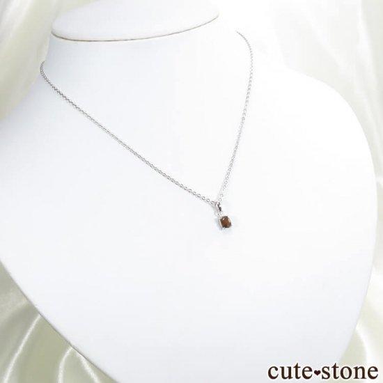 天川村レインボーガーネットのペンダントトップ No.5の写真3 cute stone