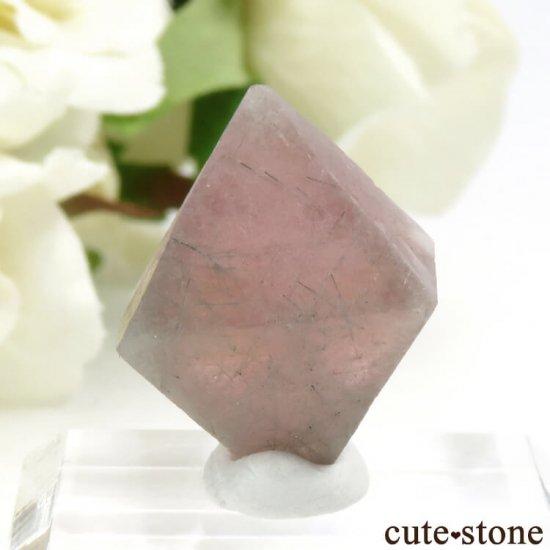 中国 内モンゴル産のピンクフローライトの結晶(原石)6g (1)の写真0 cute stone