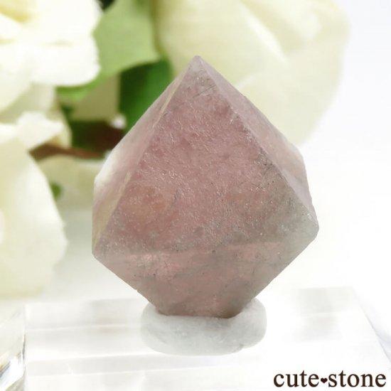 中国 内モンゴル産のピンクフローライトの結晶(原石)6g (1)の写真1 cute stone