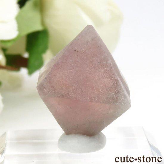 中国 内モンゴル産のピンクフローライトの結晶(原石)6g (1)の写真2 cute stone