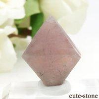 中国 内モンゴル産のピンクフローライトの結晶(原石)6g (1)の画像