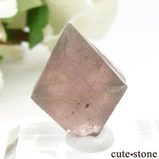 中国 内モンゴル産のピンクフローライトの結晶(原石)6g (2)の写真0 cute stone