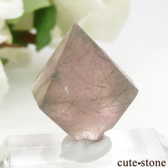 中国 内モンゴル産のピンクフローライトの結晶(原石)6g (2)の写真2 cute stone
