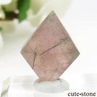 中国 内モンゴル産のピンクフローライトの結晶(原石)6g (2)の画像