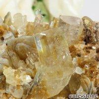 パキスタン Nagar産ゴシェナイトの母岩付き結晶(原石) 75.5gの画像