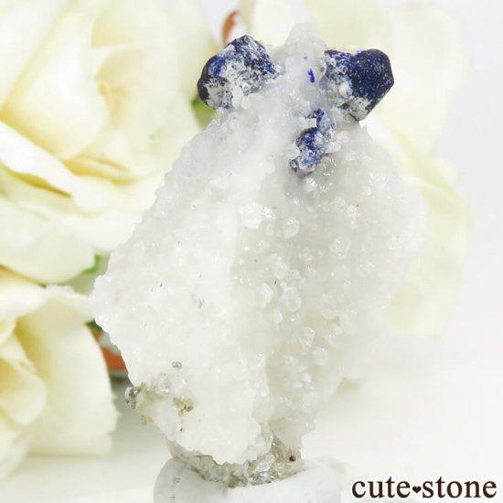 アフガニスタン産 ラズライトの母岩付き原石 10.2gの写真2 cute stone