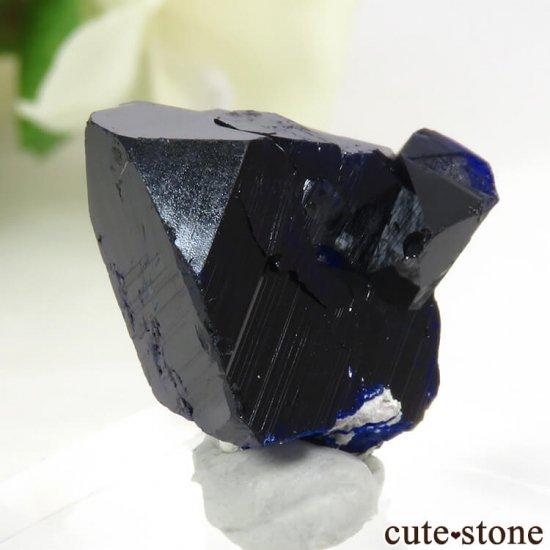 メキシコ Milpillas Mine産アズライトの結晶(原石) 5.4gの写真0 cute stone