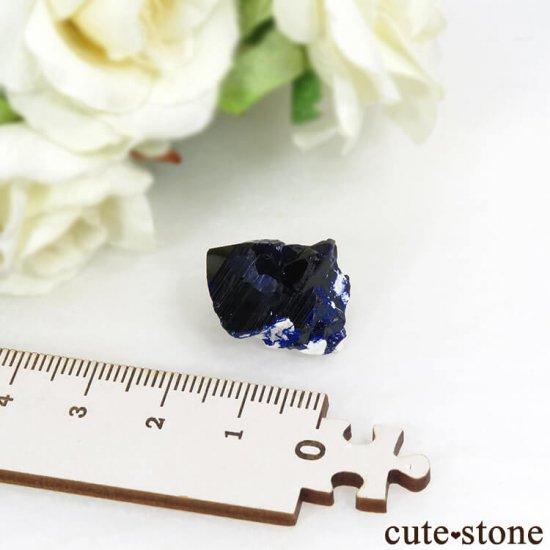 メキシコ Milpillas Mine産アズライトの結晶(原石) 5.4gの写真3 cute stone