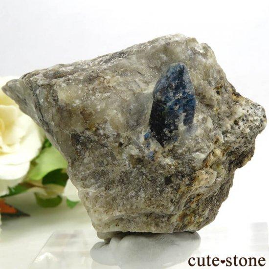 アフガナイトの母岩付き原石 129.4g