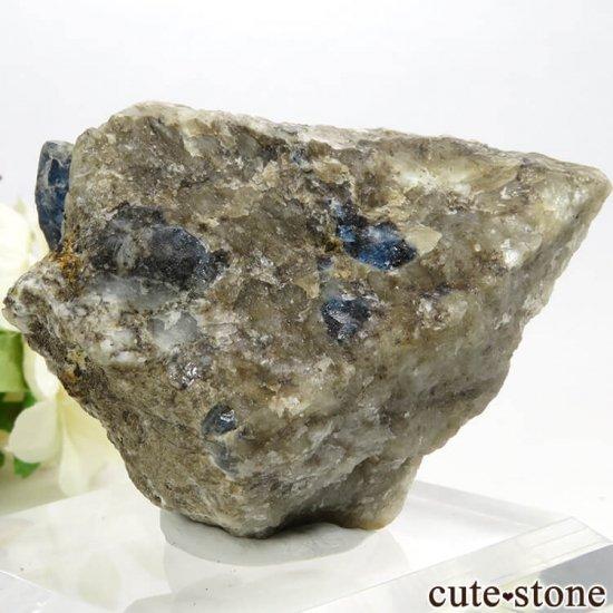 アフガナイトの母岩付き原石 129.4gの写真1 cute stone