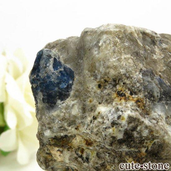 アフガナイトの母岩付き原石 129.4gの写真2 cute stone