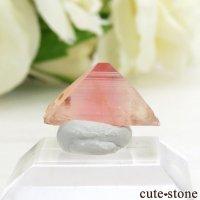 ブラジル産 ピンクユークレースの結晶(原石) 3.3ctの画像