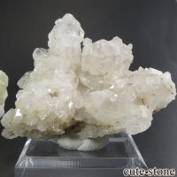 ロシア ダルネゴルスク産 水晶(クォーツ)の原石・クラスター 129gの画像