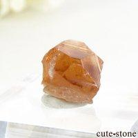 カナダ ケベック州 Jeffrey Mine産 グロッシュラーガーネットの原石 2.2gの画像