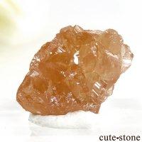 カナダ ケベック州 Jeffrey Mine産 グロッシュラーガーネットの原石 1.9gの画像