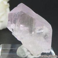 アフガニスタン産 クンツァイト (スポジュメン・リチア輝石) の結晶(原石) 7.7gの画像