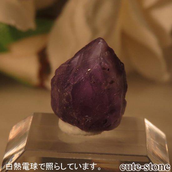 タンザニア産 アレキサンドライト(クリソベリル)の結晶(原石) 1.2gの写真0 cute stone