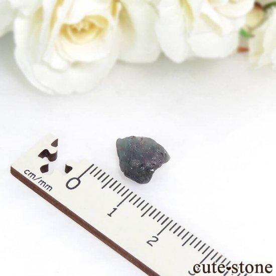 タンザニア産 アレキサンドライト(クリソベリル)の結晶(原石) 1.2gの写真3 cute stone