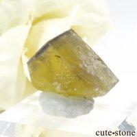 イングランド Hilton Mine産 イエローフローライトの結晶(原石)5.5gの画像