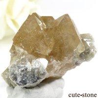 中国 四川省産 シェーライトの結晶(原石)34.7gの画像
