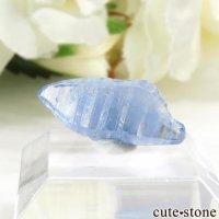 スリランカ産 ブルーサファイアの結晶(原石)0.7gの画像