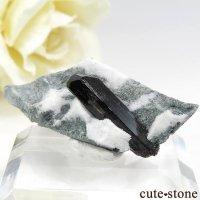 カリフォルニア産 ネプチュナイトの母岩付き結晶(原石) 2.7gの画像