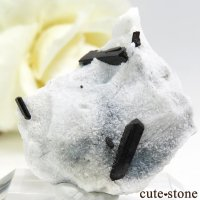 カリフォルニア産 ネプチュナイトの母岩付き結晶(原石) 3.9gの画像