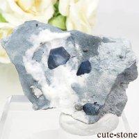 カリフォルニア産 ベニトアイト&ネプチュナイトの母岩付き結晶(原石) 24.2gの画像