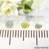 ザンビア産 ダイヤモンドの原石 3点セット No.12の画像
